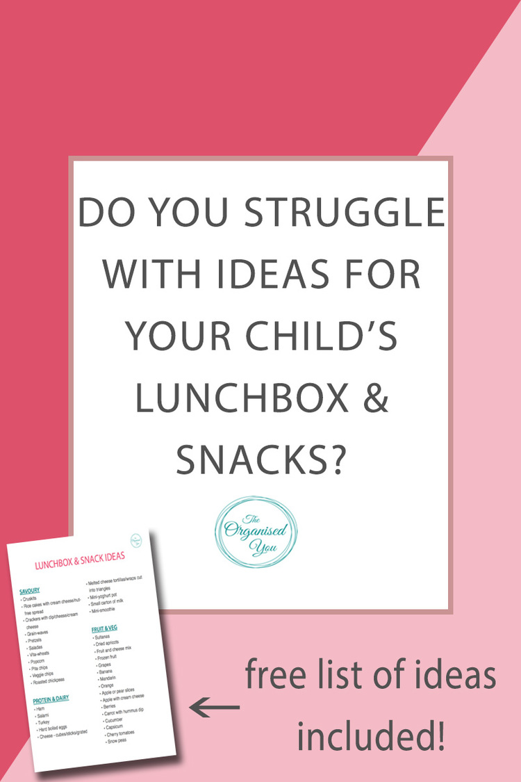 Do you struggle with ideas for your child\'s lunchbox and snacks ...