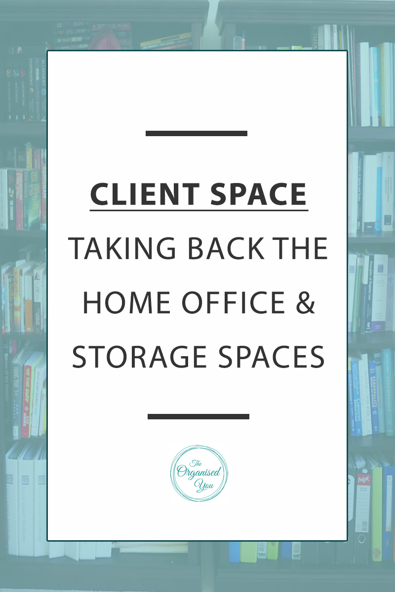 Client Space: Taking back the home office & storage spaces - If you work from home, then having a home office that is clutter-free, neat and organised is a must for encouraging productivity. Having organised storage spaces in your home will also mean that everything in your home has its own place, and everything is being stored in the right place in the home. This client makeover shows exactly how we managed to achieve a clutter-free and productive home office space.  Click through to see the full makeover!