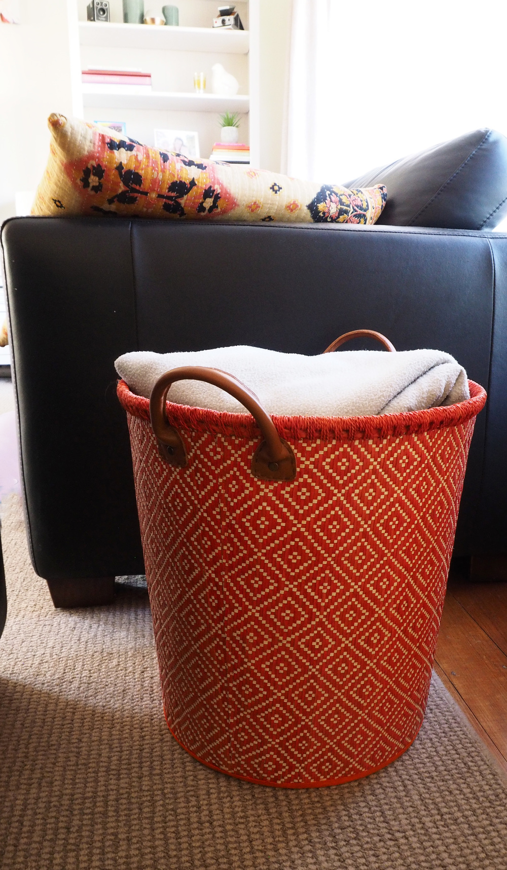 Tall cylindrical baskets are the perfect storage solution for quick and easy pack-ups, and can really hold a lot inside them
