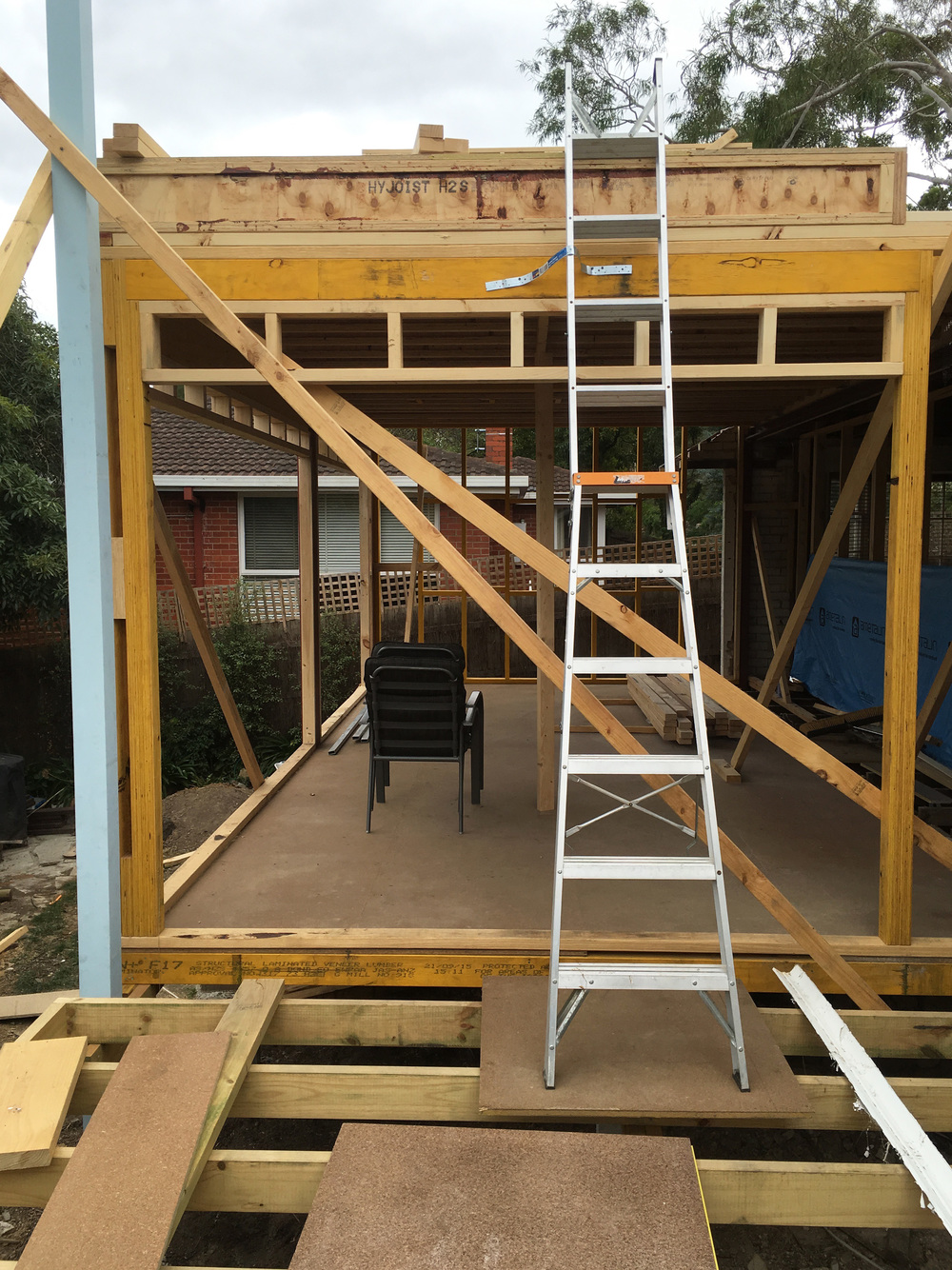 The way up to the next level - adding on a second storey in the renovation