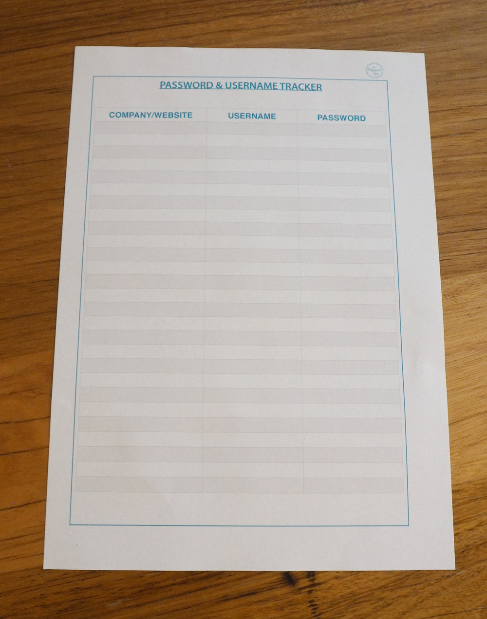 Household binder printables will help get you organised by keeping all important information in the one handy spot!