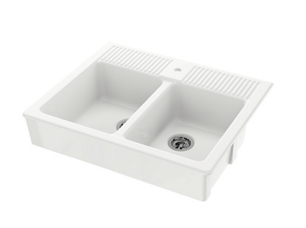 Ikea double sink