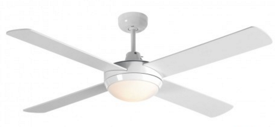 Beacon white interior fan