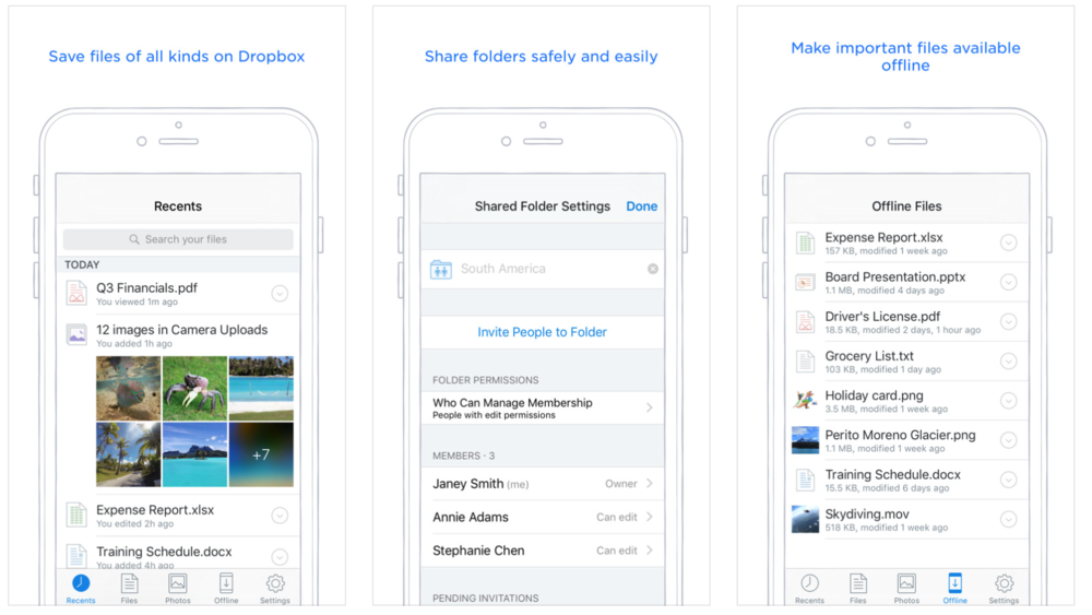 Dropbox - the place to store photos, videos and other files and keep them  safely backed up