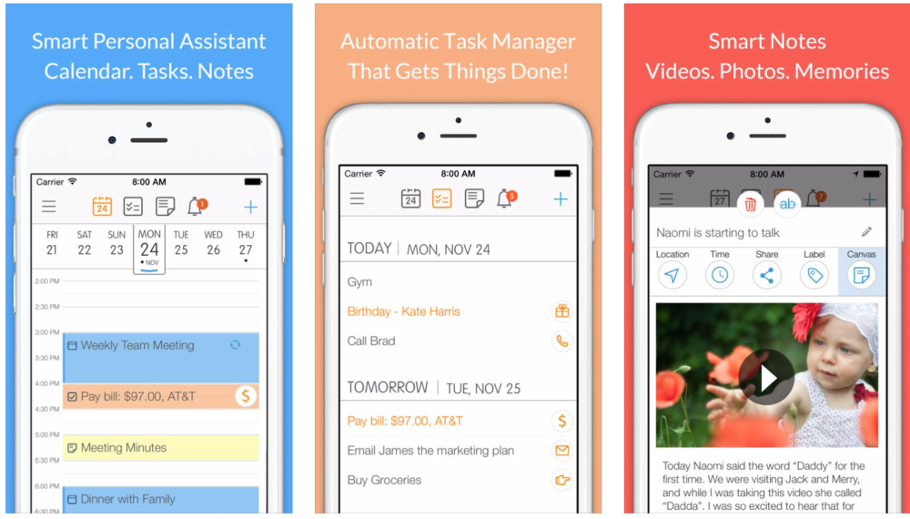 24me - an app that works like your personal assistant
