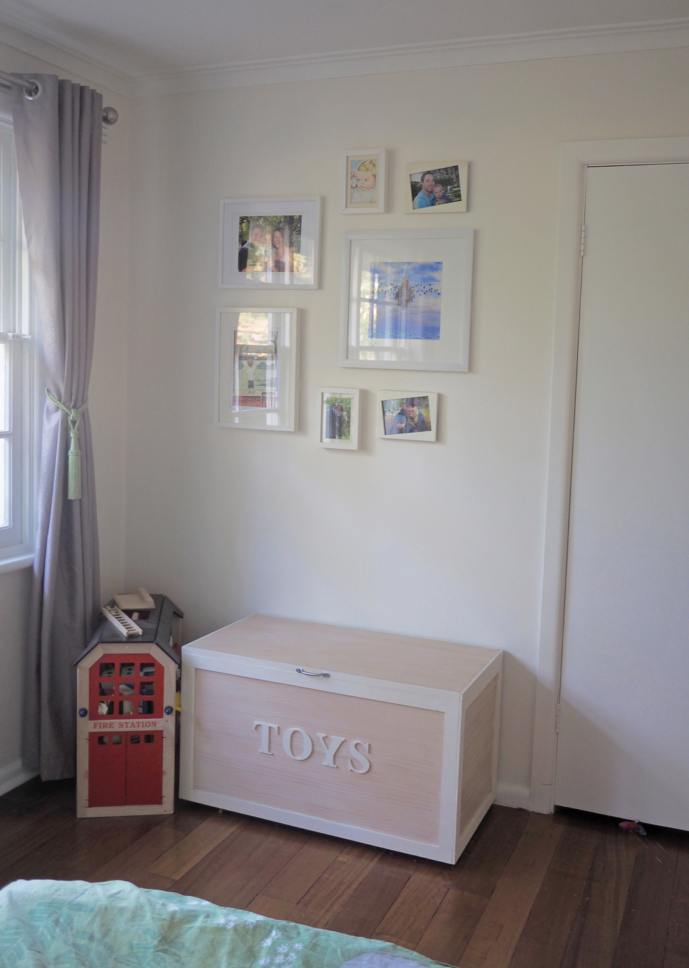 Special photos and artwork for our son's bedroom makeover - The Organised You