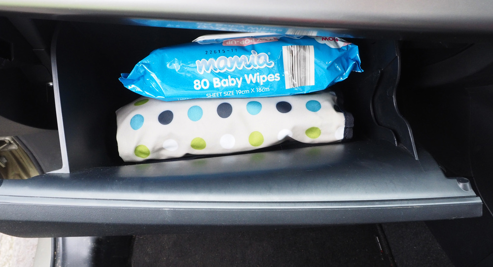 Keeping the car essentials close at hand for easy access - The Organised You