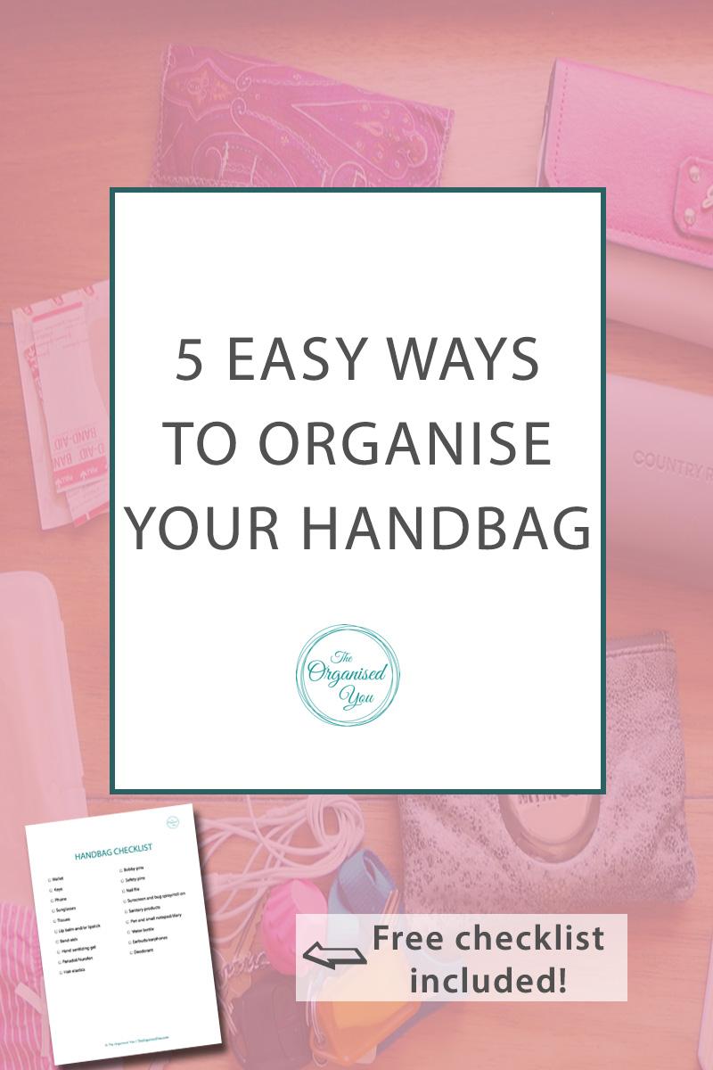 Tips for organising your handbag - The Organised You.jpg