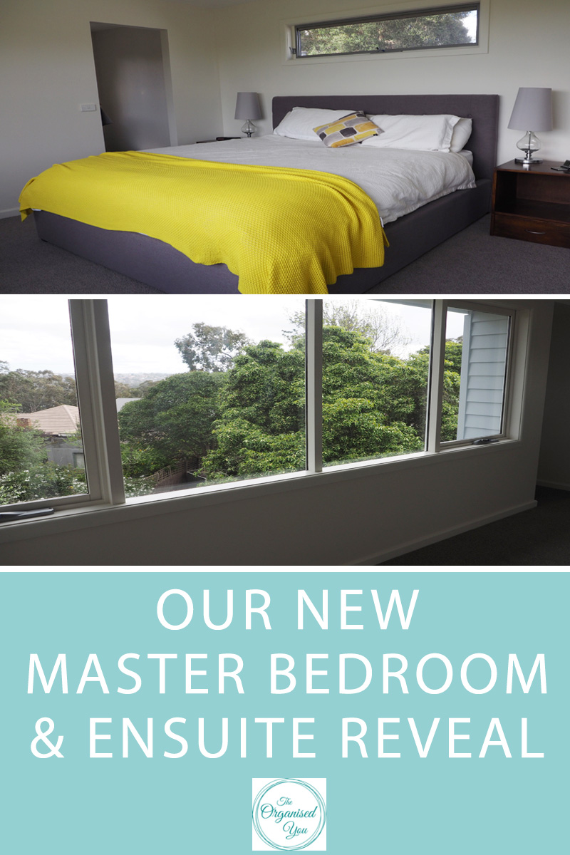 Our new master bedroom & ensuite reveal-Blog | Home Organisation-The ...