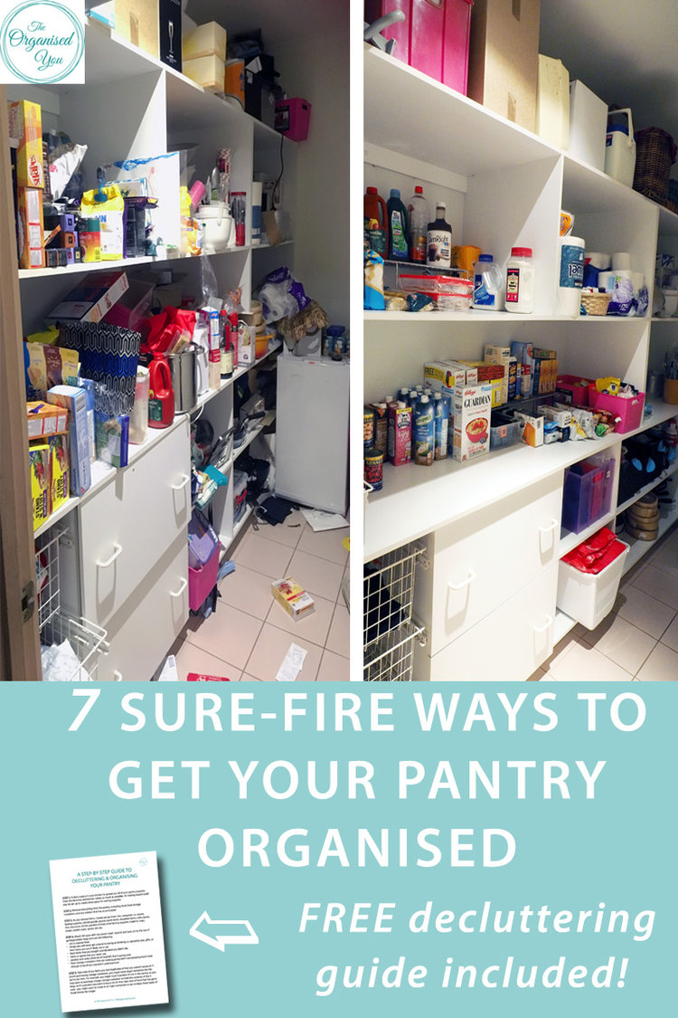 7 sure-fire ways to get your pantry organised {Client Space}-Blog ...
