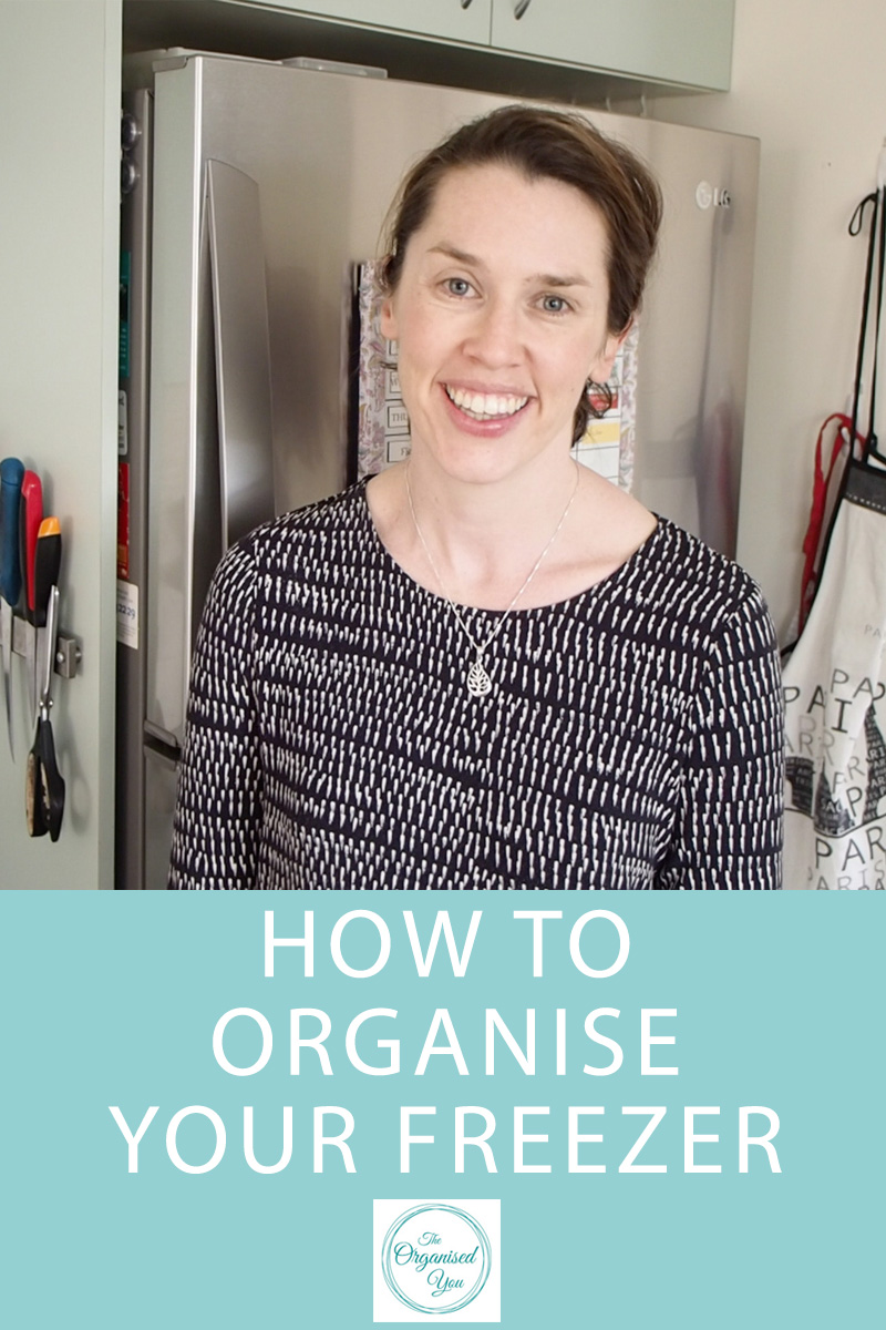 How to Organise Your Freezer {The Organised You}