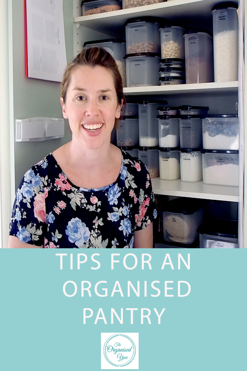 Tips for an organised pantry {The Organised You}