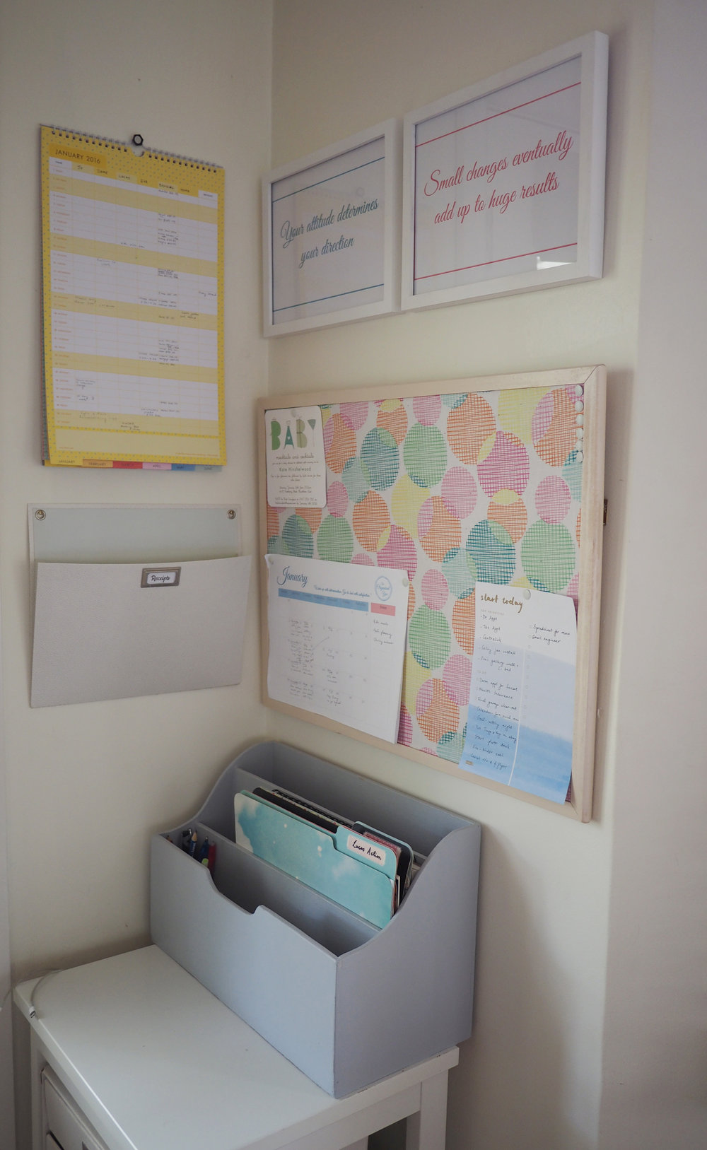 Organised family command centre {The Organised You}