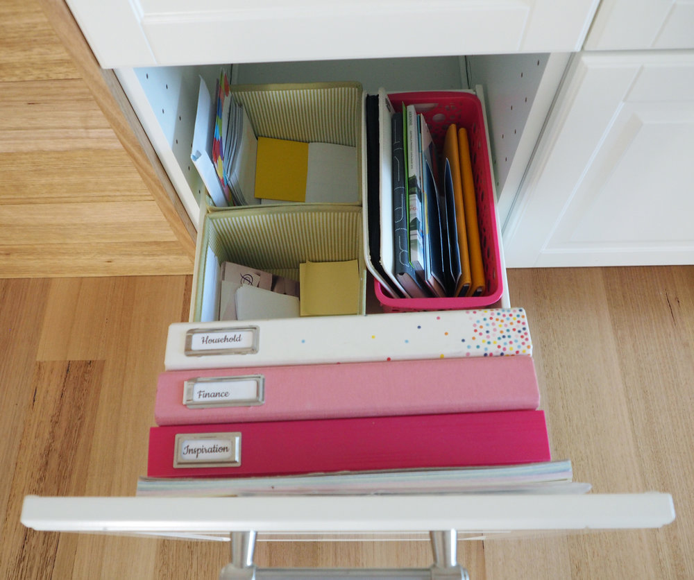 Easy reference systems, such as a household binder and finance binder, will save you time and effort looking for information you need regular access to {The Organised You}