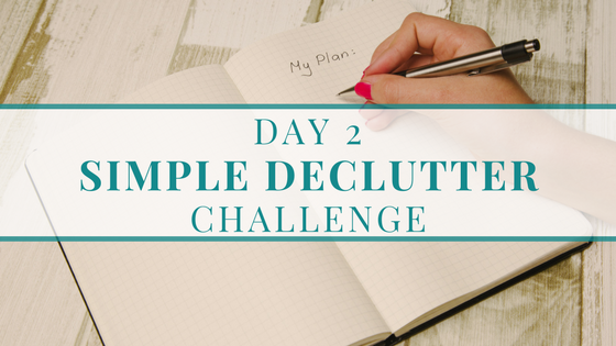 Declutter Challenge - The Organised You