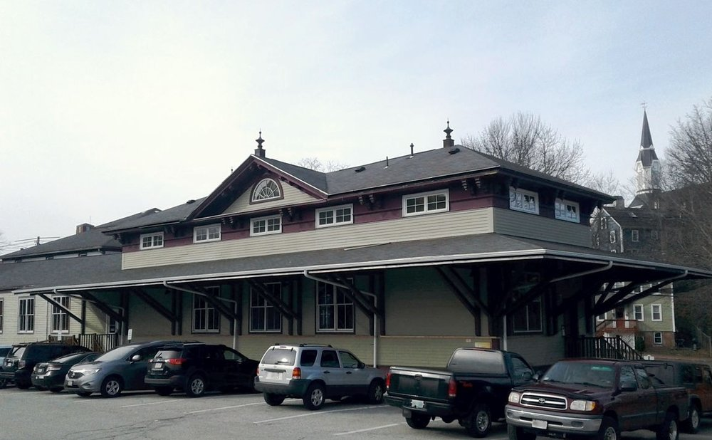 Passenger station as it looks today, home of Crave restaurant.