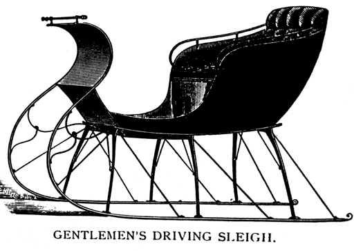 Bailey's Gentlemen's Driving Sleigh