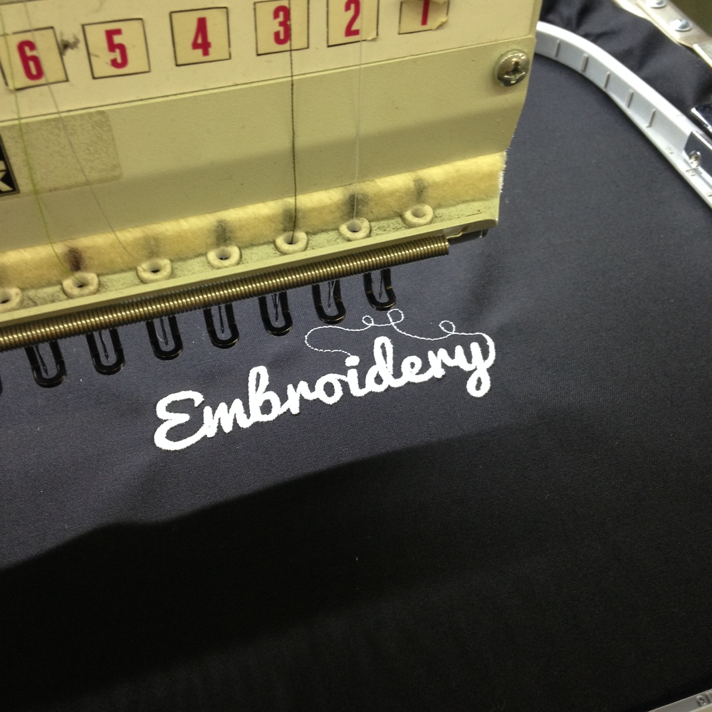VIDEO: Our Embroidery department!