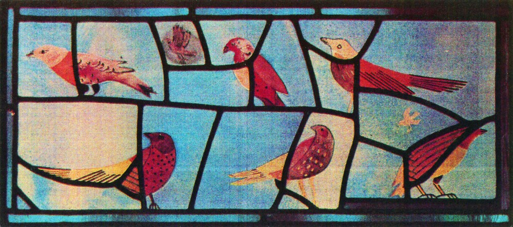 My bird window, 1986