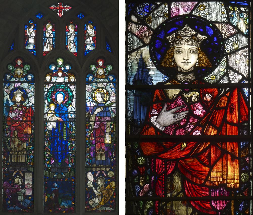 Saints Elizabeth, Mary and Barbara         Click to enlarge    Saint Elizabeth of Hungary / Roma Spencer-Smith