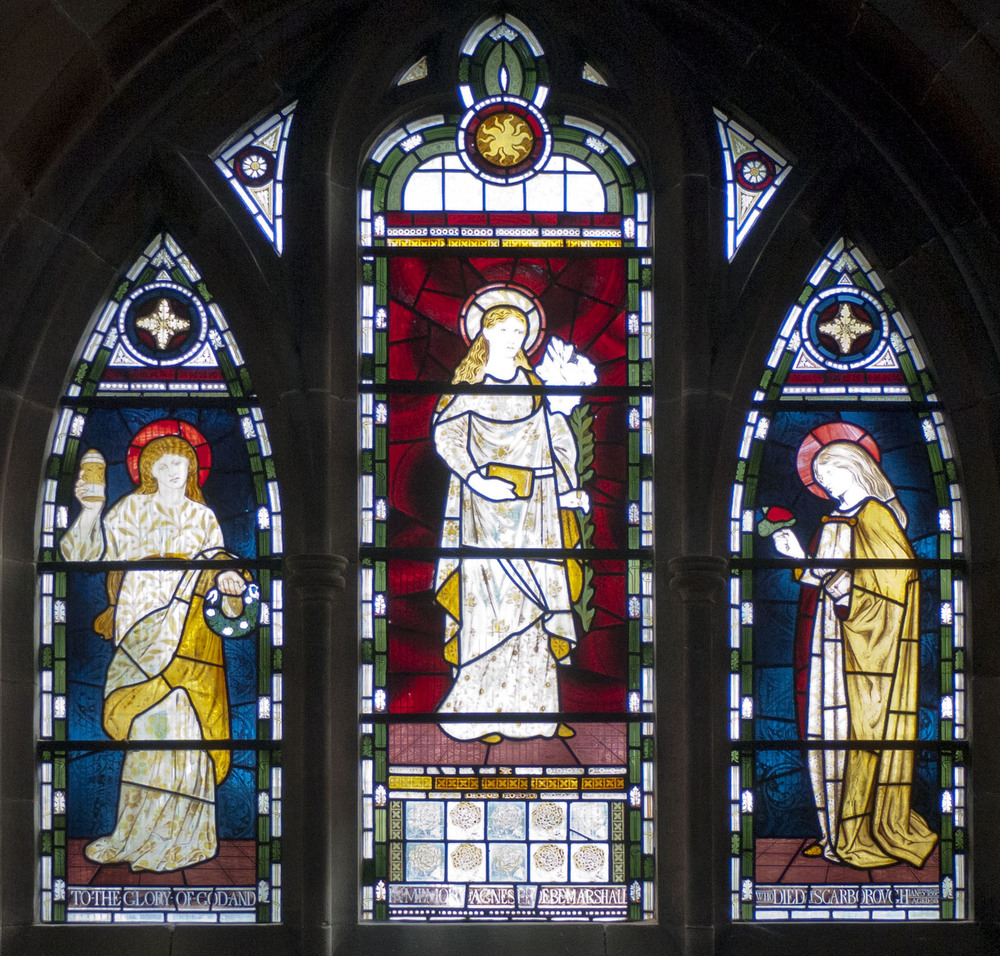 The Mary Window, St Martin-on-the-Hill, Scarborough 1868