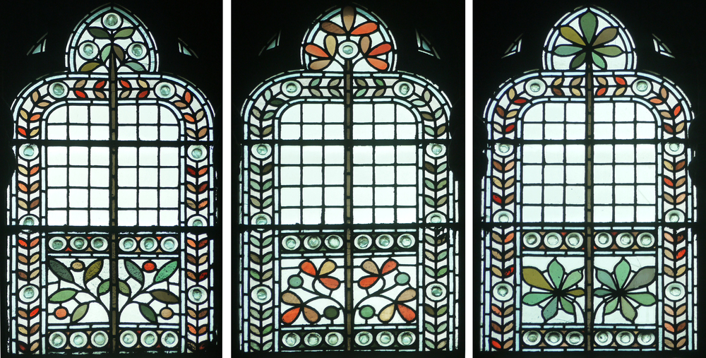 Details from the 3 window types in The Great Hall (in my order of preference).
