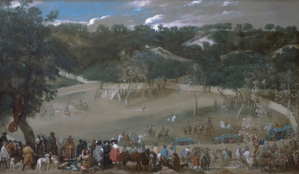 """Philip IV Hunting Wild Boar"" 1632-7 Diego Velasquez"