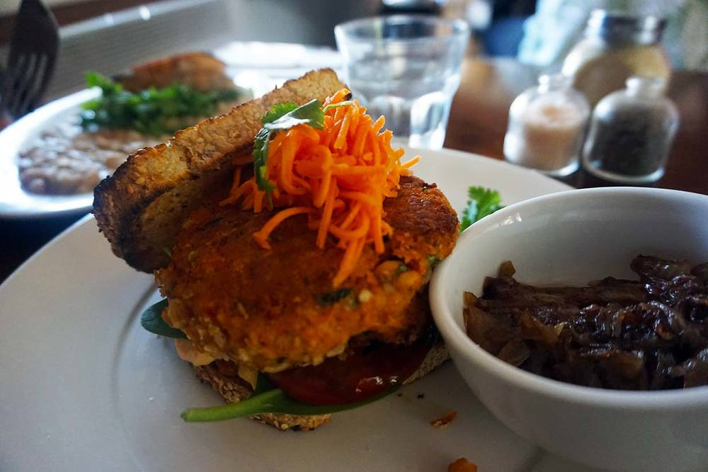 A Minor Place: Open Chickpea Sandwich (16.50)