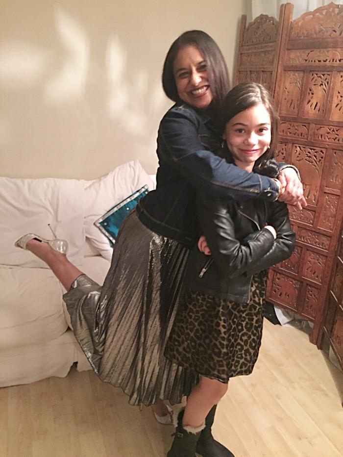 Shivanti and her daughter, Maya.