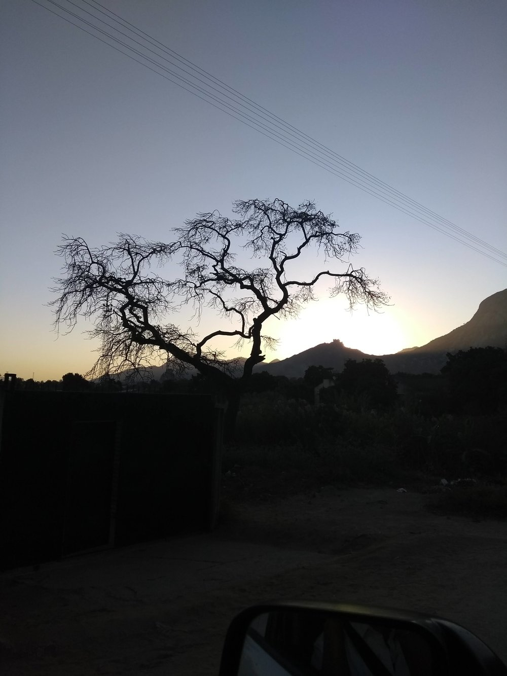 Mutare sunset.