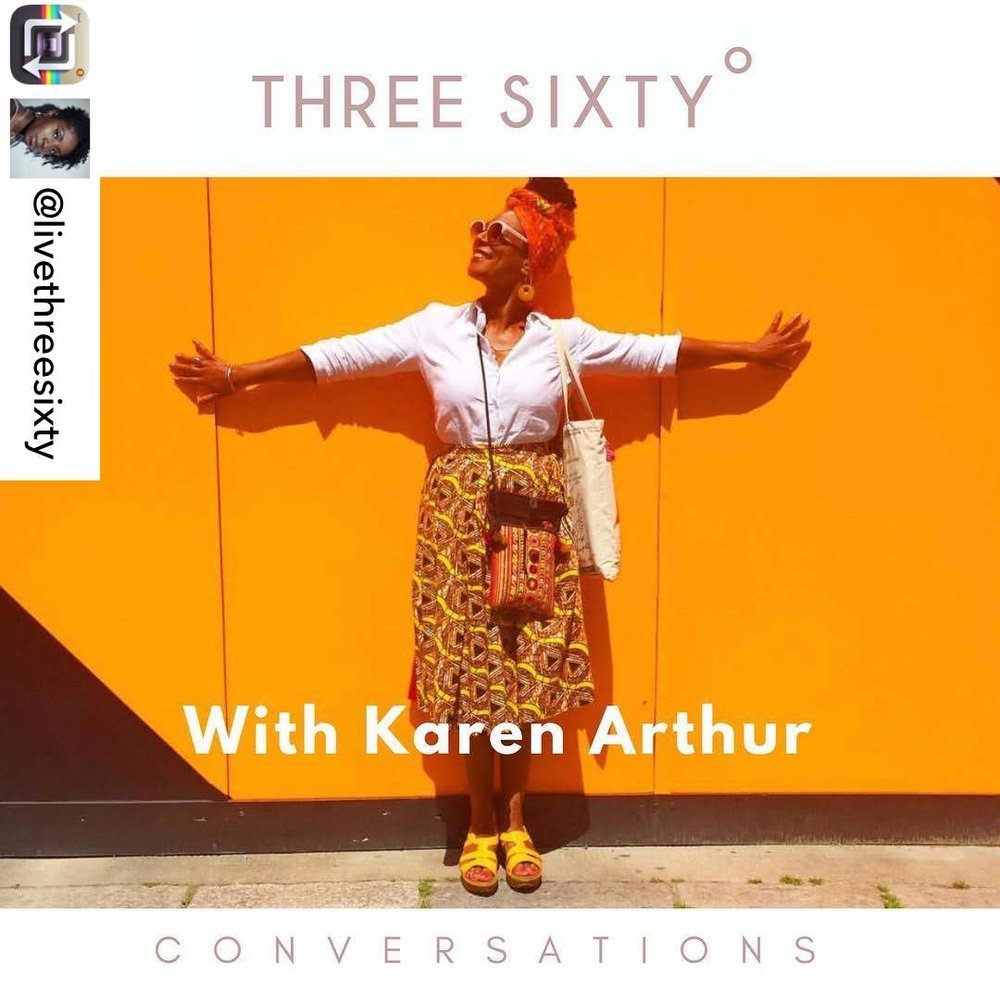 In conversation with Tamu Thomas of LivethreeSixty chatting about slow living and everyday joy. October 2018.