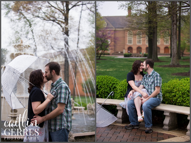 Regent Unversity Engagement Session in the Rain Virginia Beach-16_DSK.jpg