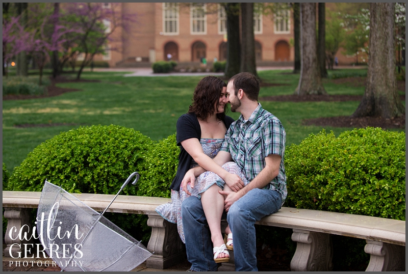 Regent Unversity Engagement Session in the Rain Virginia Beach-20_DSK.jpg