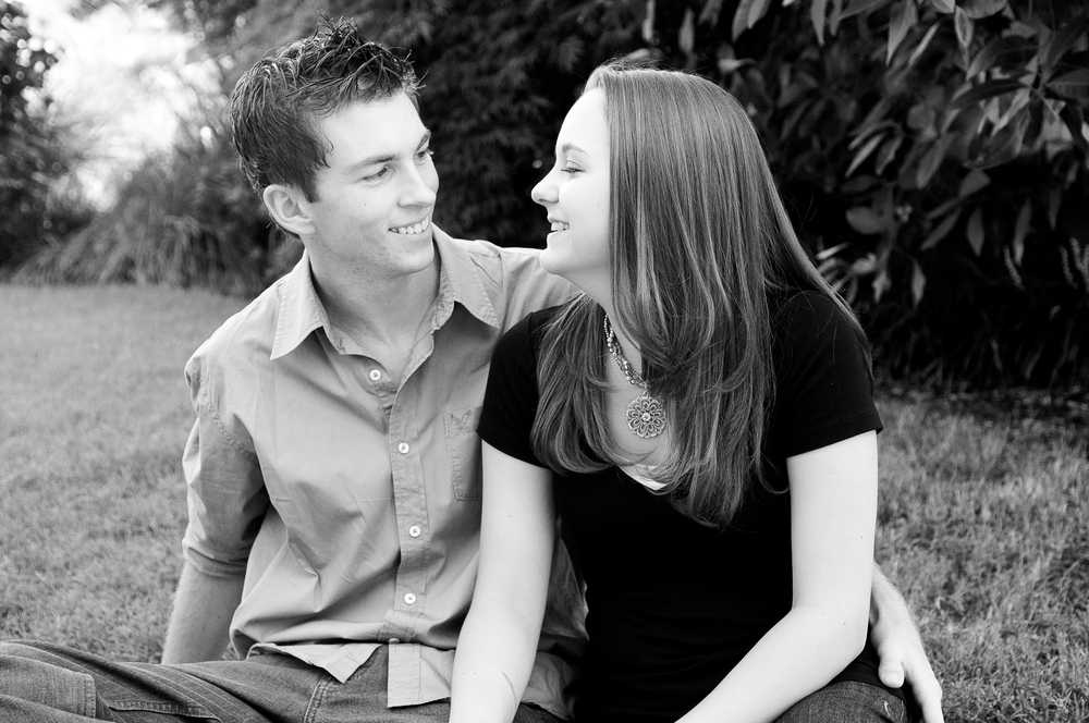 Engagement photo by Rebecca Franklin Photography