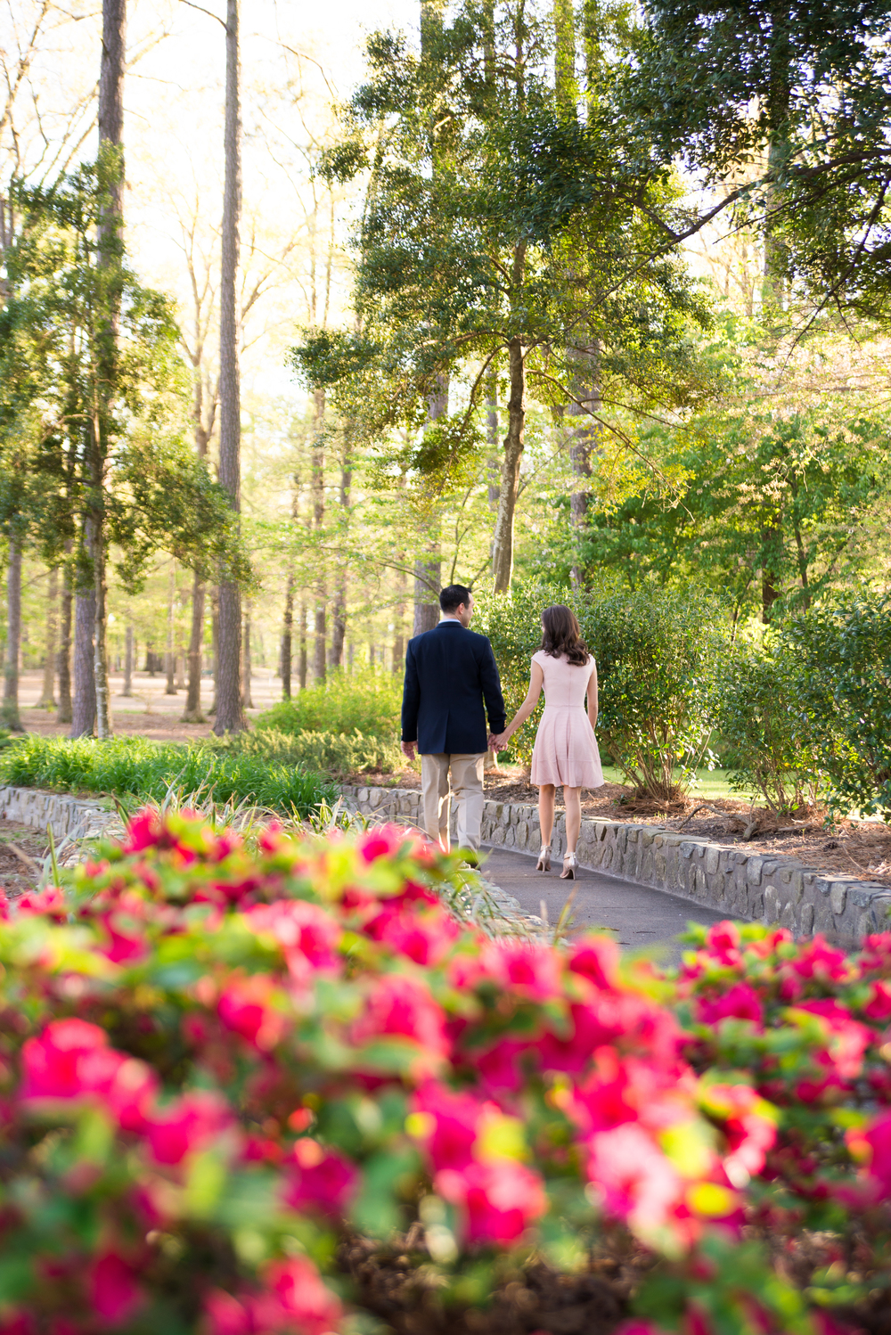 Virginia Beach Garden Engagement Session.Pink and Navy Outfits-103.jpg