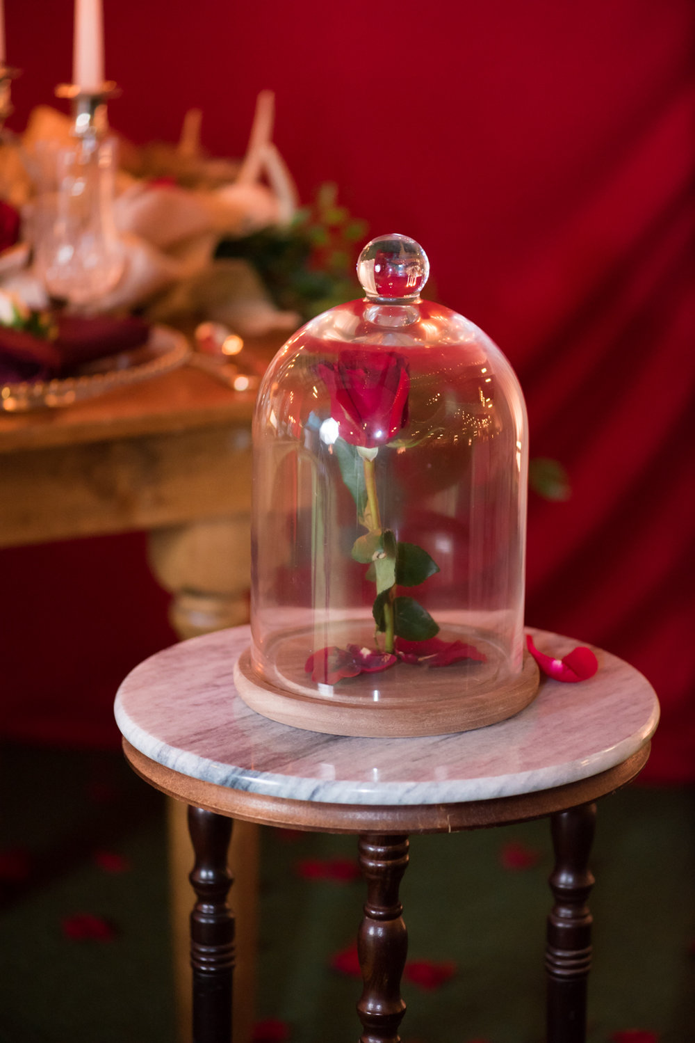 Beauty and the Beast Be Our Guest Wedding Reception Inspiration.Caitlin Gerres Photography-114.jpg