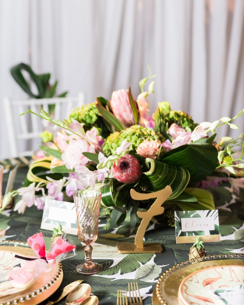 Tropical Palm Greenery and Pink Wedding Inspiration.Soriees by Lauren.Caitlin Gerres Photography-103.jpg
