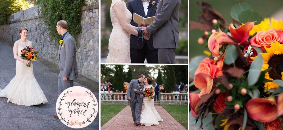 Fall Wedding at Norfolk Botanical Gardens Glamour and Grace Feature.jpg
