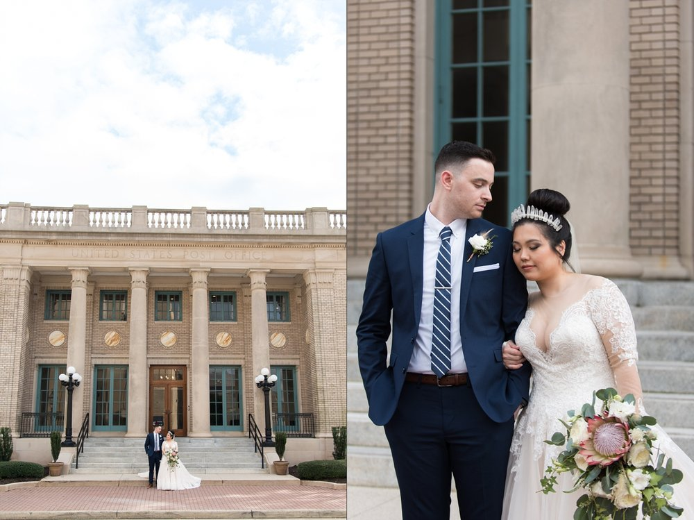Rose Gold Wedding at Historic Post Office Virginia Harry Potter Themed Wedding-137_WEB.jpg