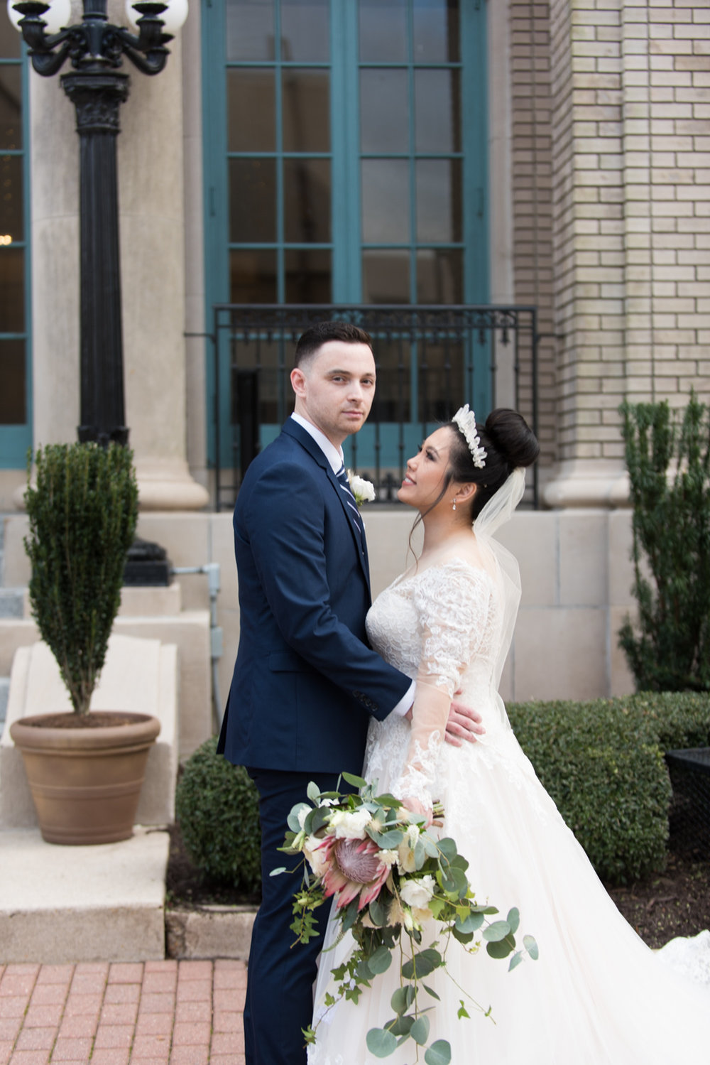 Rose Gold Wedding at Historic Post Office Virginia Harry Potter Themed Wedding-154.JPG
