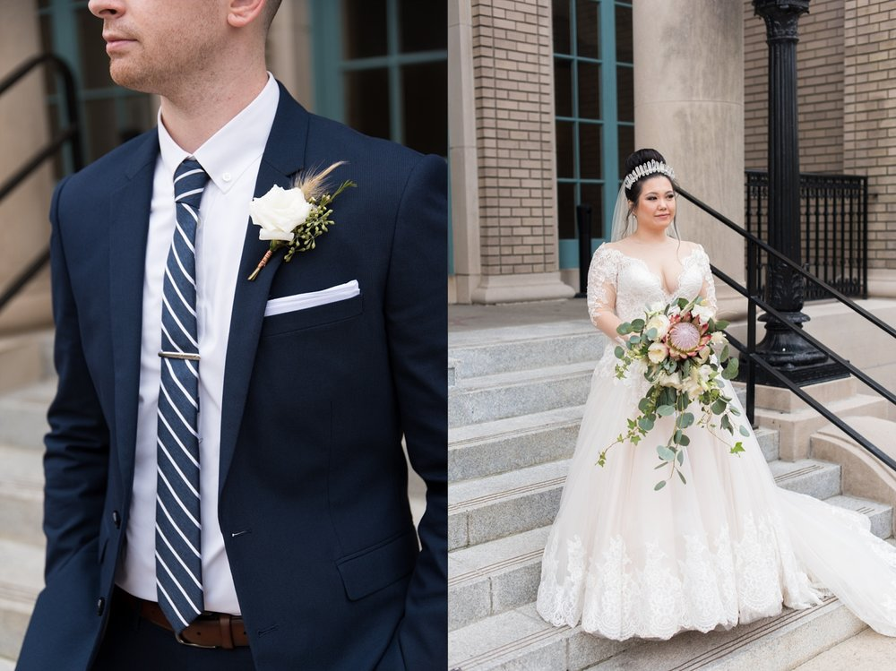 Rose Gold Wedding at Historic Post Office Virginia Harry Potter Themed Wedding-159_WEB.jpg