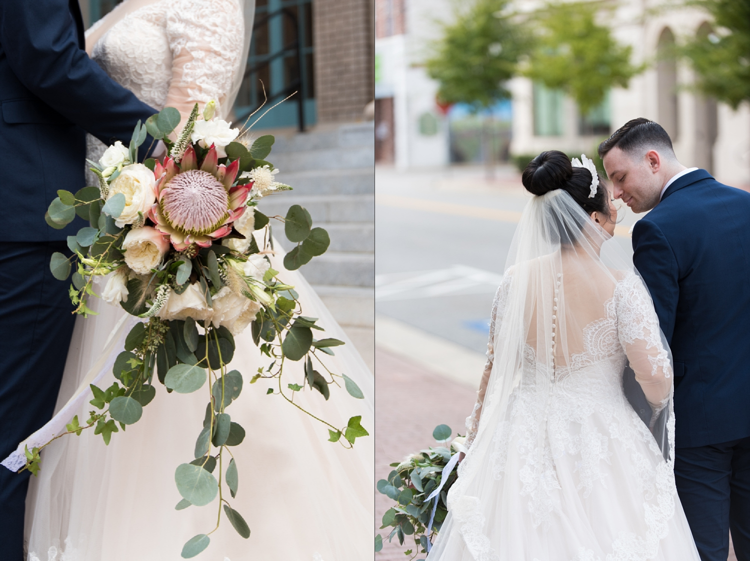 Caitlin Gerres Photography — Jiney & Stephen - Rose Gold Historic ...
