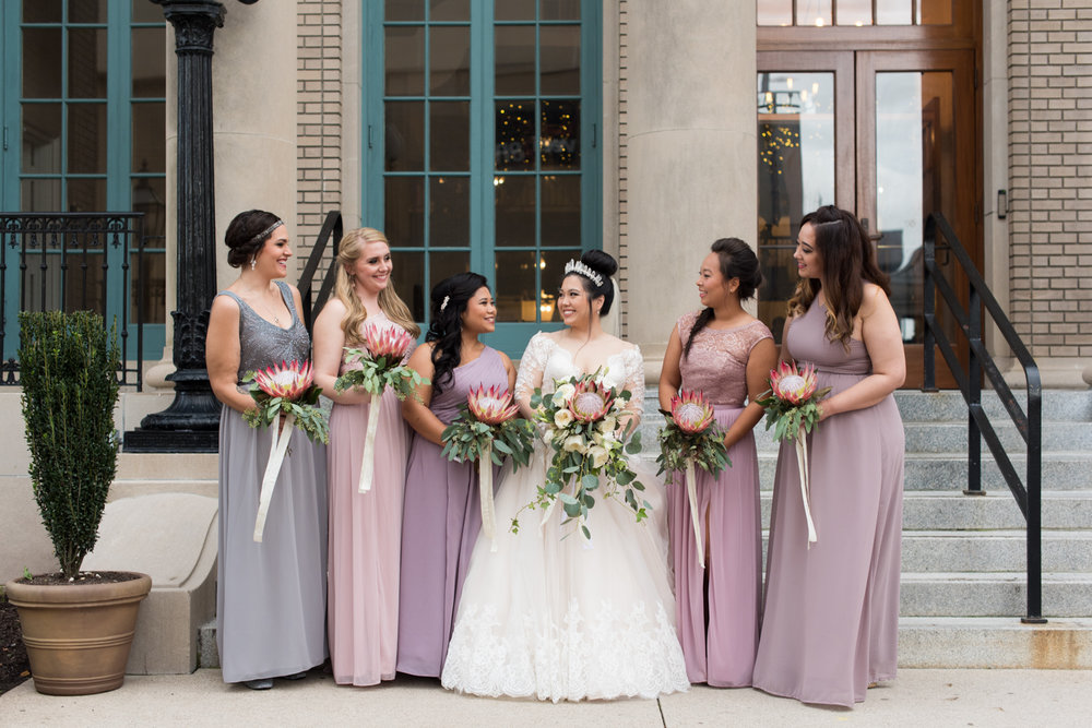 Rose Gold Wedding at Historic Post Office Virginia Harry Potter Themed Wedding-173.JPG