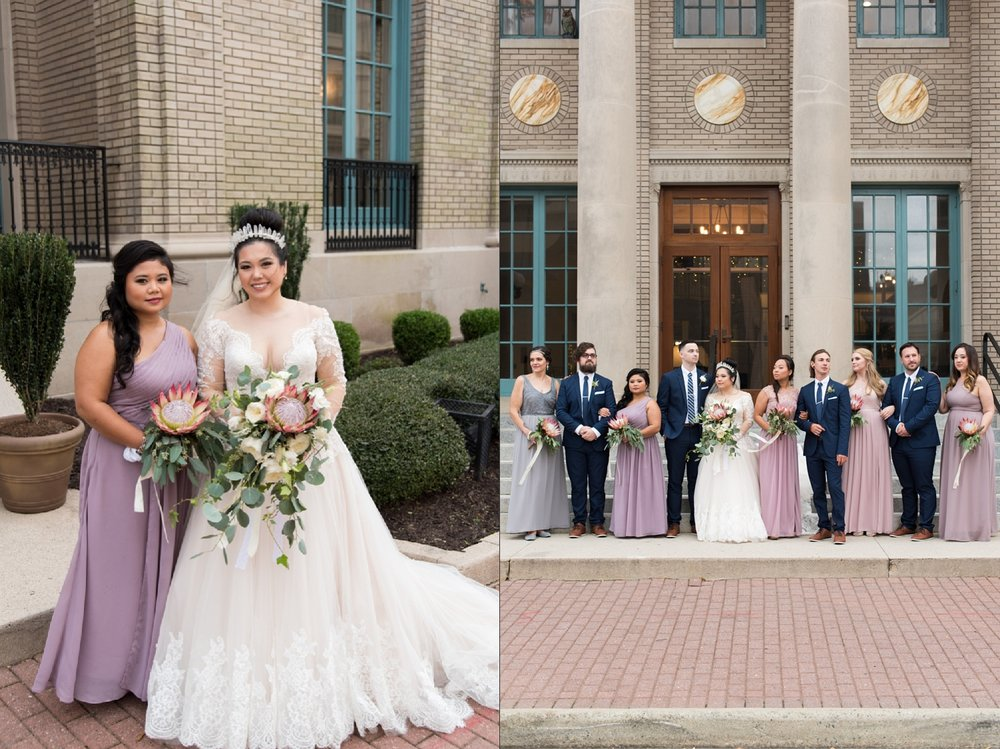 Rose Gold Wedding at Historic Post Office Virginia Harry Potter Themed Wedding-179_WEB.jpg