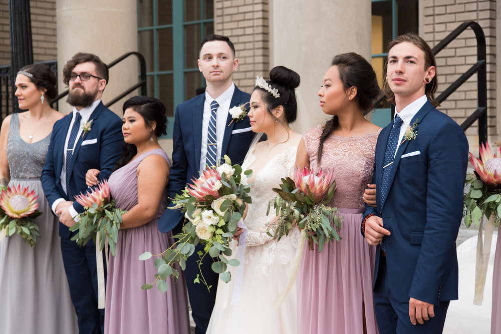 Rose Gold Wedding at Historic Post Office Virginia Harry Potter Themed Wedding-169.JPG