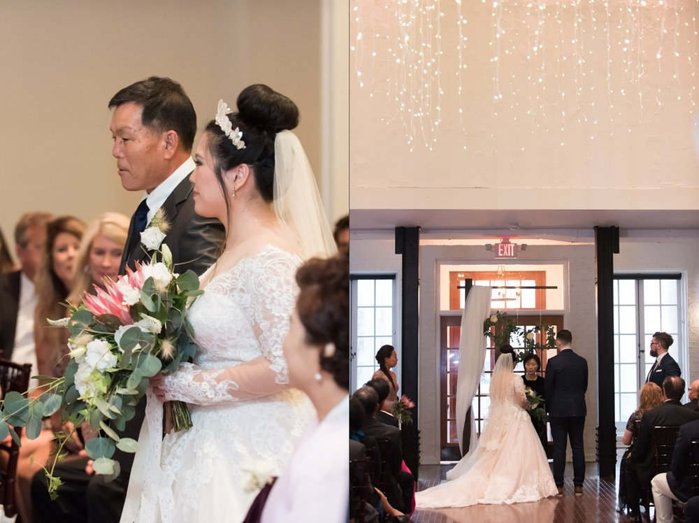 Rose Gold Wedding at Historic Post Office Virginia Harry Potter Themed Wedding-215_WEB.jpg
