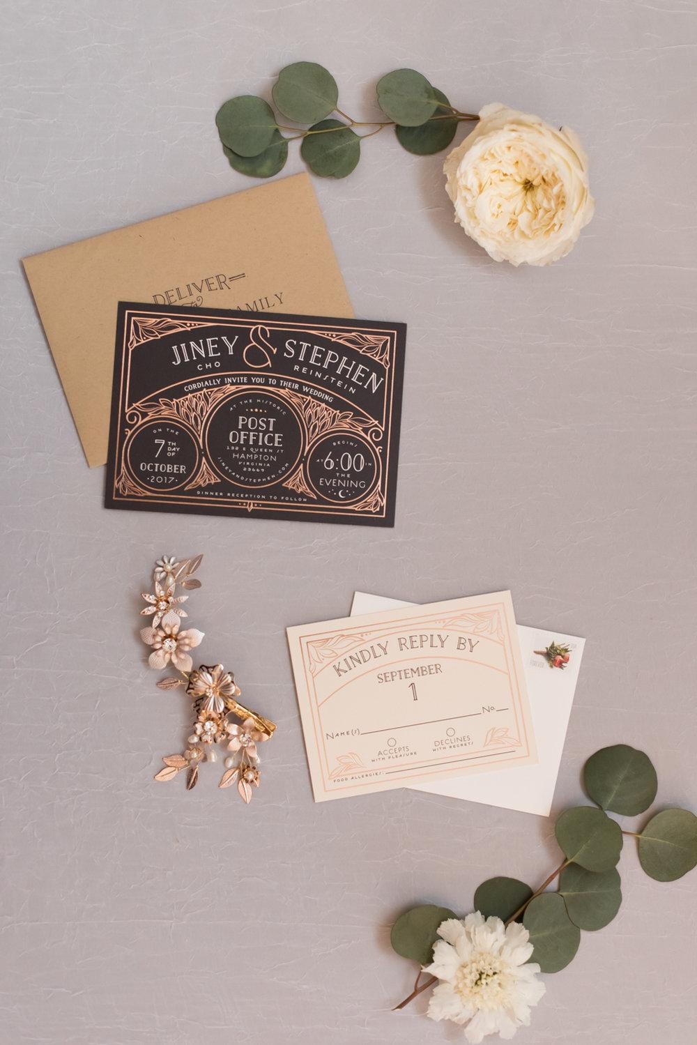 Rose Gold Wedding at Historic Post Office Virginia Harry Potter Themed Wedding-110.JPG