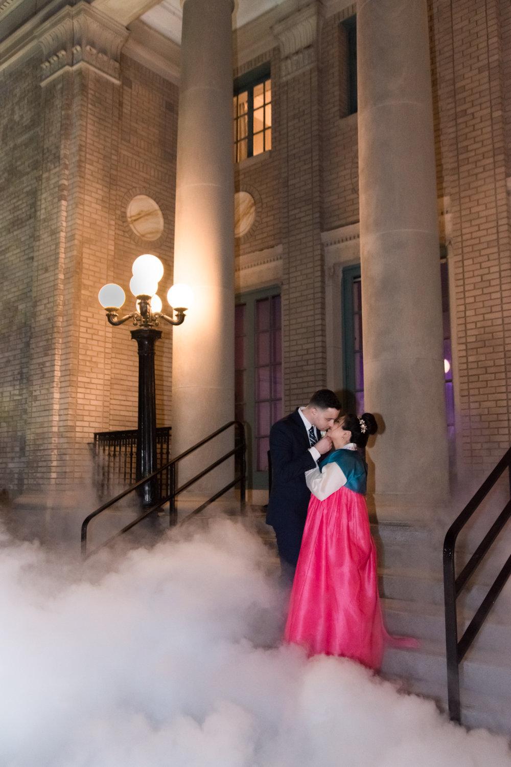 Rose Gold Wedding at Historic Post Office Virginia Harry Potter Themed Wedding-272.JPG