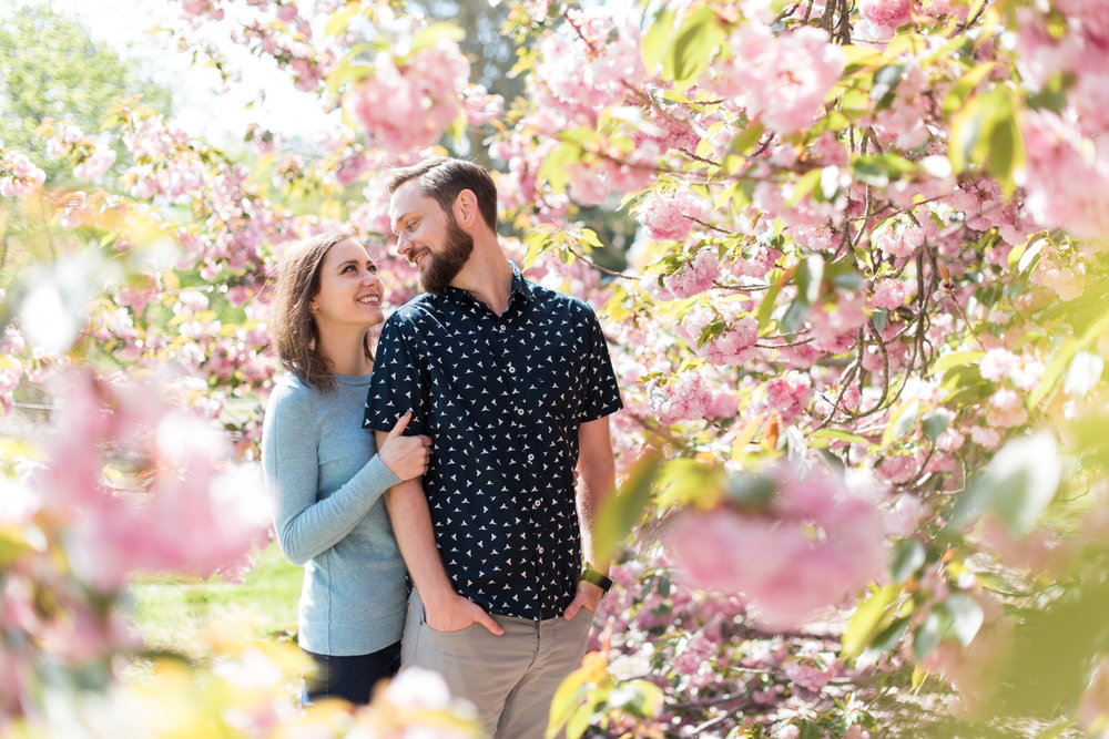 Cherry Blossom Engagement Session at Norfolk Botanical Garden-112.jpg