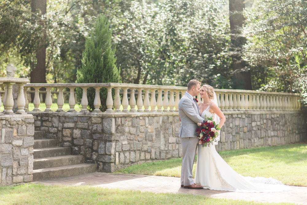 Ashley & Tim - Fall Norfolk Botanical Garden Wedding